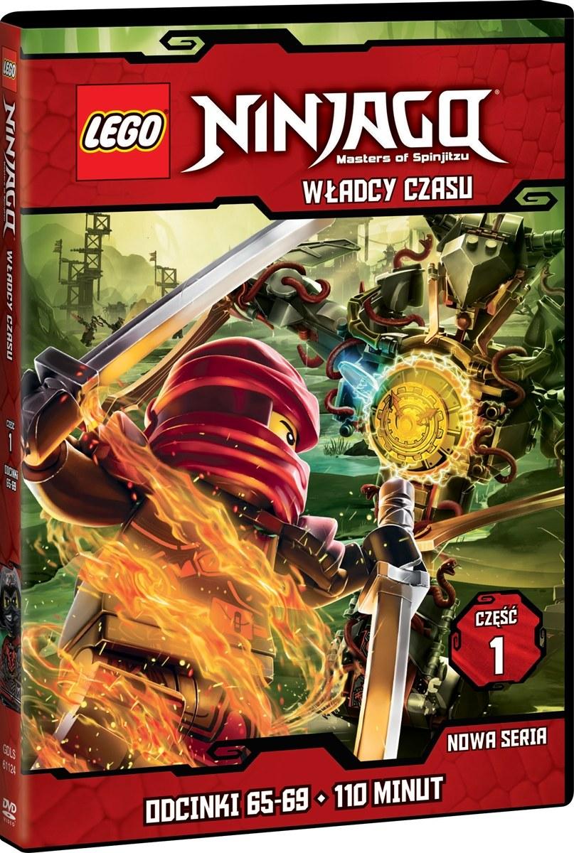 """Okładka filmu """"LEGO Ninjago: Władcy Czasu, część 1"""" /materiały prasowe"""