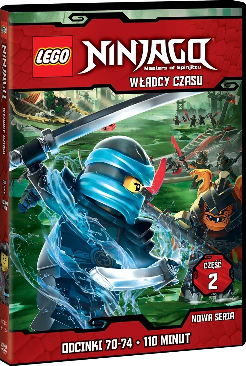 """Okładka filmu """"LEGO Ninjago: Władcy Czasu, część 2"""" /materiały prasowe"""