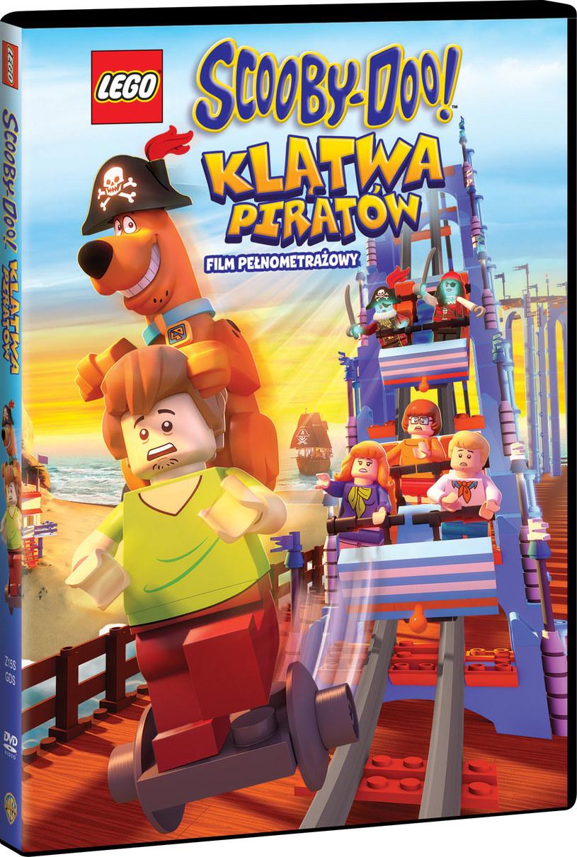"""Okładka filmu """"LEGO Scooby-Doo: Klątwa Piratów"""" /materiały prasowe"""