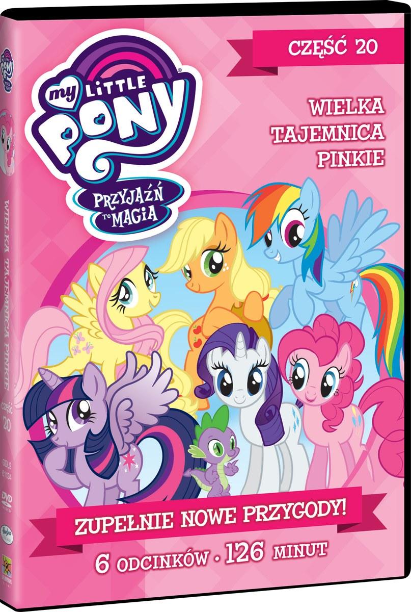 """Okładka filmu """"My Little Pony, część 20"""" /materiały prasowe"""