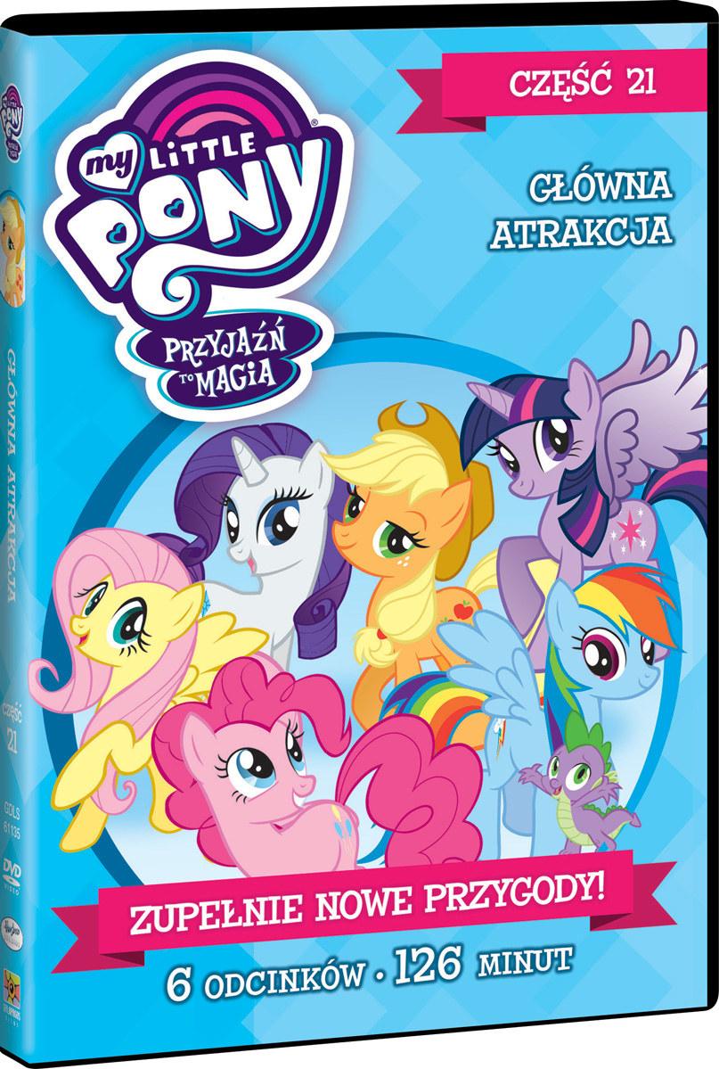 """Okładka filmu """"My Little Pony, część 21"""" /materiały prasowe"""