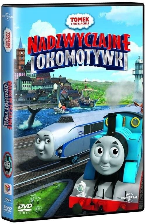 Okładka filmu: Tomek i przyjaciele: Nadzwyczajne lokomotywki /materiały prasowe