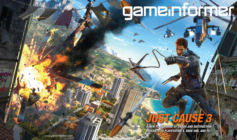 Okładka grudniowego wydania magazynu Game Informer /materiały źródłowe