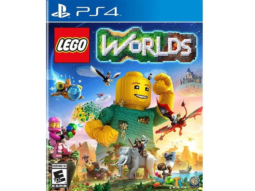 """Okładka gry """"LEGO World"""" /materiały prasowe"""