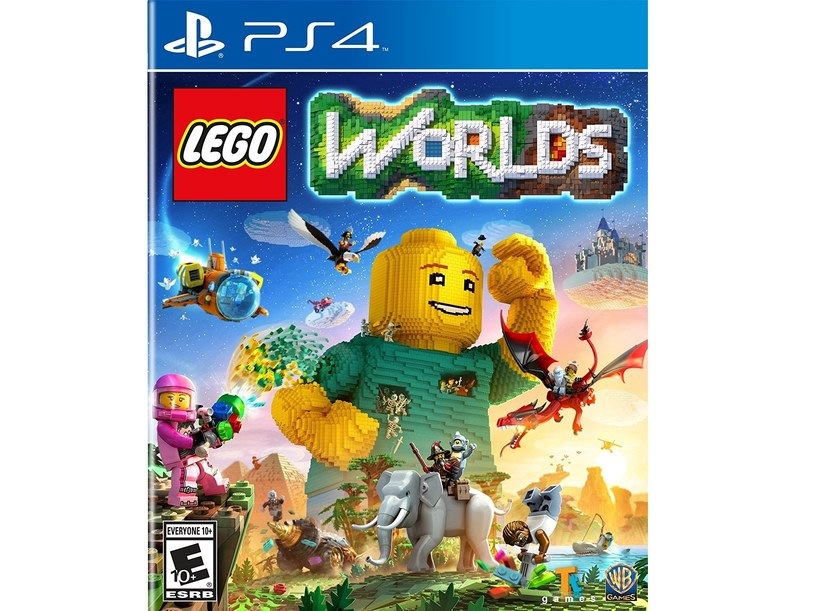 """Okładka gry """"LEGO Worlds"""" /materiały prasowe"""