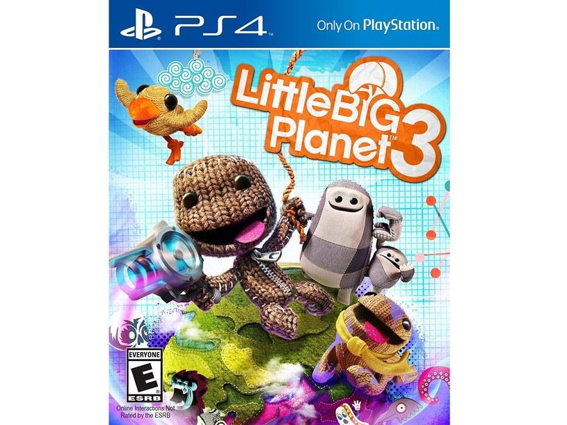 """Okładka gry """"Little Big Planet 3"""" /materiały prasowe"""