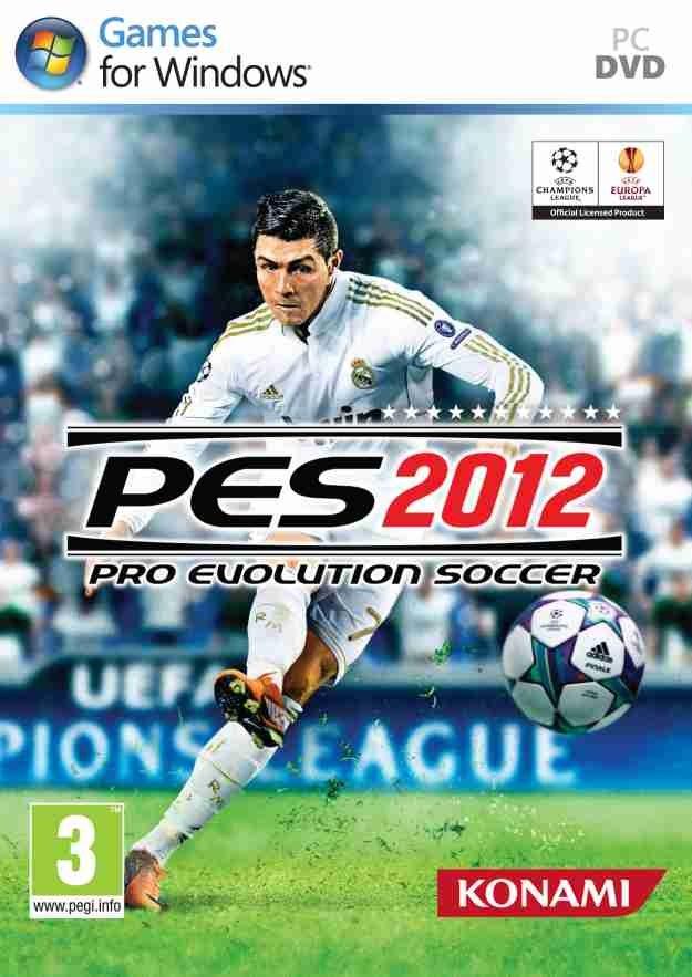 Okładka gry PES 2012 /Informacja prasowa