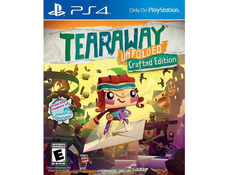 """Okładka gry """"Tearaway"""" /materiały prasowe"""