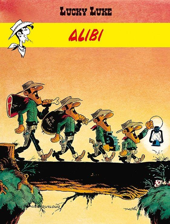 """Okładka komiksu """"Alibi"""" /materiały prasowe"""