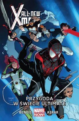 """Okładka komiksu """"All-New X-Men - Przygoda w świecie Ultimate"""" /materiały prasowe"""