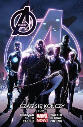 """Okładka komiksu """"Avengers: Czas się kończy"""" /materiały prasowe"""