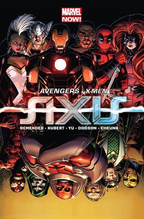 """Okładka komiksu """"Avengers i X-Men - Axis"""" /materiały prasowe"""