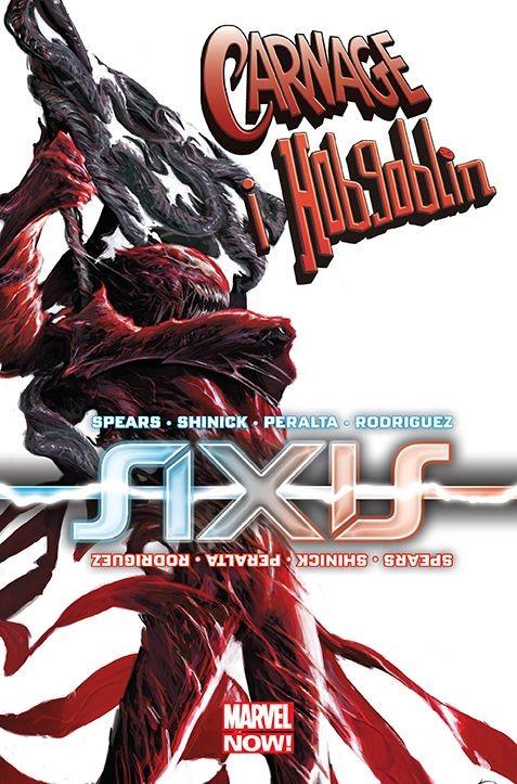"""Okładka komiksu """"Axis - Carnage i Hobgoblin"""" /materiały prasowe"""