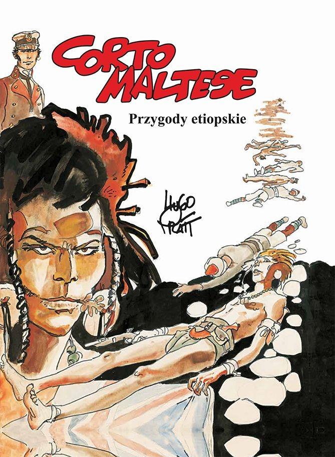 """Okładka komiksu """"Corto Maltese - Przygody etiopskie"""" /materiały prasowe"""