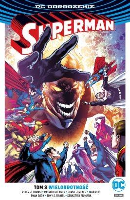 """Okładka komiksu """"DC Odrodzenie. Superman - Wielokrotność, tom 3"""" /materiały prasowe"""