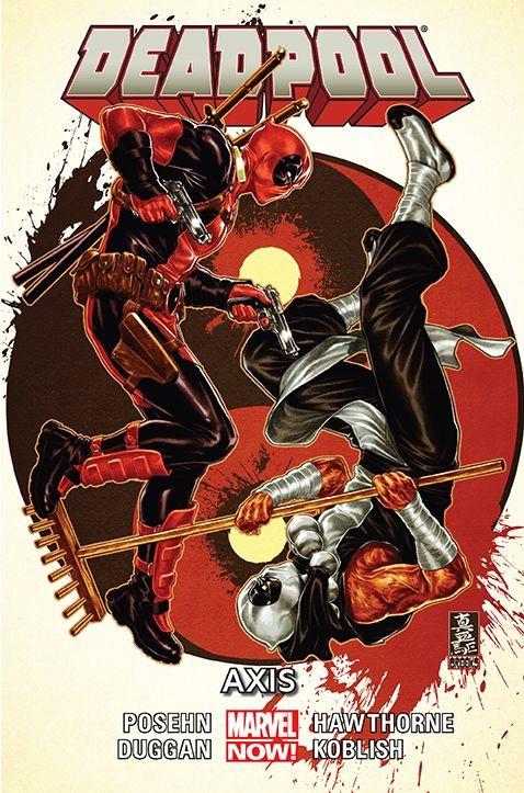 """Okładka komiksu """"Deadpool - Axis"""" /materiały prasowe"""
