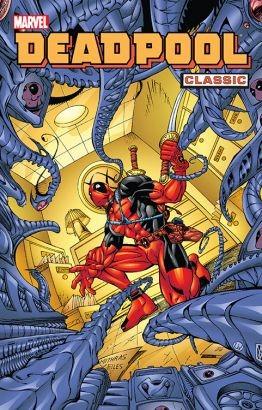 """Okładka komiksu """"Deadpool Classic"""" /materiały prasowe"""