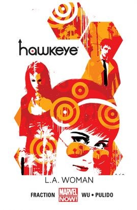 """Okładka komiksu """"Hawkeye. L.A. Woman"""" /materiały prasowe"""