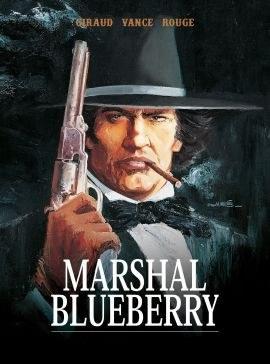 """Okładka komiksu """"Plansze Europy. Marshal Blueberry"""" /materiały prasowe"""