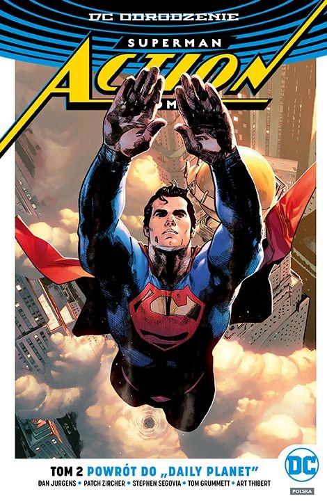 """Okładka komiksu """"Superman Action Comics - Powrót do """"Daily Planet"""""""" /materiały prasowe"""
