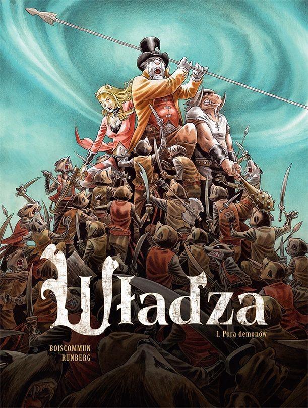 """Okładka komiksu """"Władza - Pora demonów"""" /materiały prasowe"""