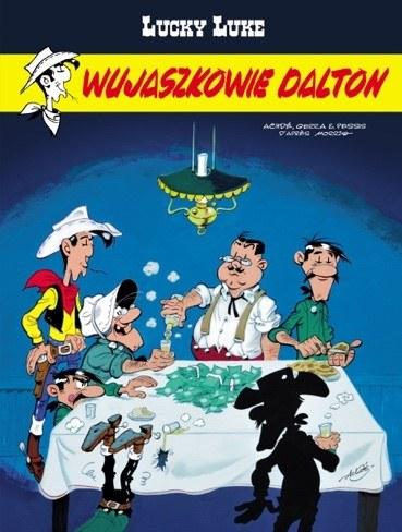 """Okładka komiksu """"Wujaszkowie Dalton"""" /materiały prasowe"""