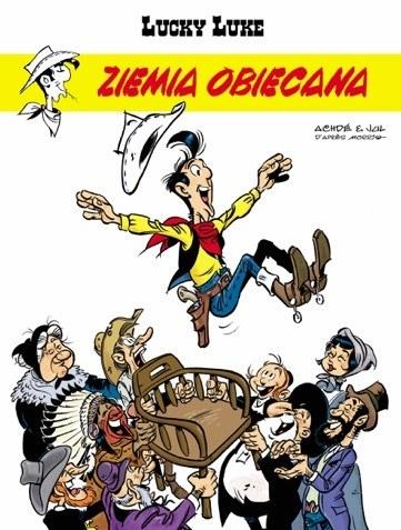 """Okładka komiksu """"Ziemia obiecana"""" /materiały prasowe"""