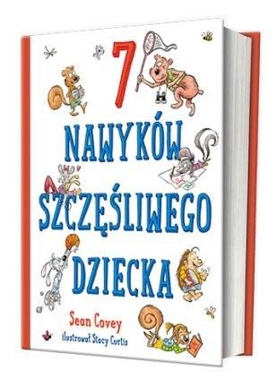 """Okładka książki """"7 nawyków szczęśliwego dziecka"""" /materiały prasowe"""