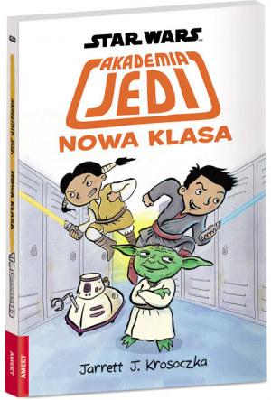 """Okładka książki """"Akademia Jedi: Nowa klasa"""" /materiały prasowe"""