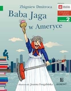 """Okładka książki """"Baba Jaga w Ameryce"""" /materiały prasowe"""