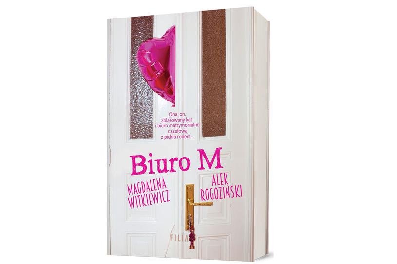 """Okładka książki """"Biuro M."""" /materiały prasowe"""