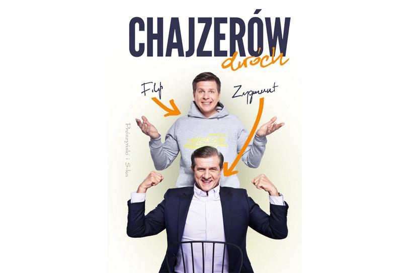 """Okładka książki """"Chajzerów dwóch"""" /materiały prasowe"""