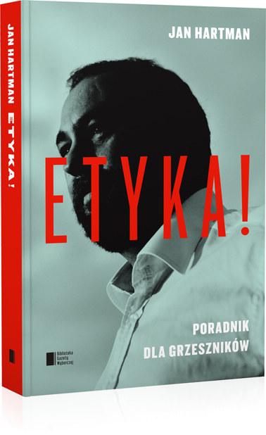 """Okładka książki """"Etyka. Poradnik dla grzeszników"""" /materiały prasowe"""
