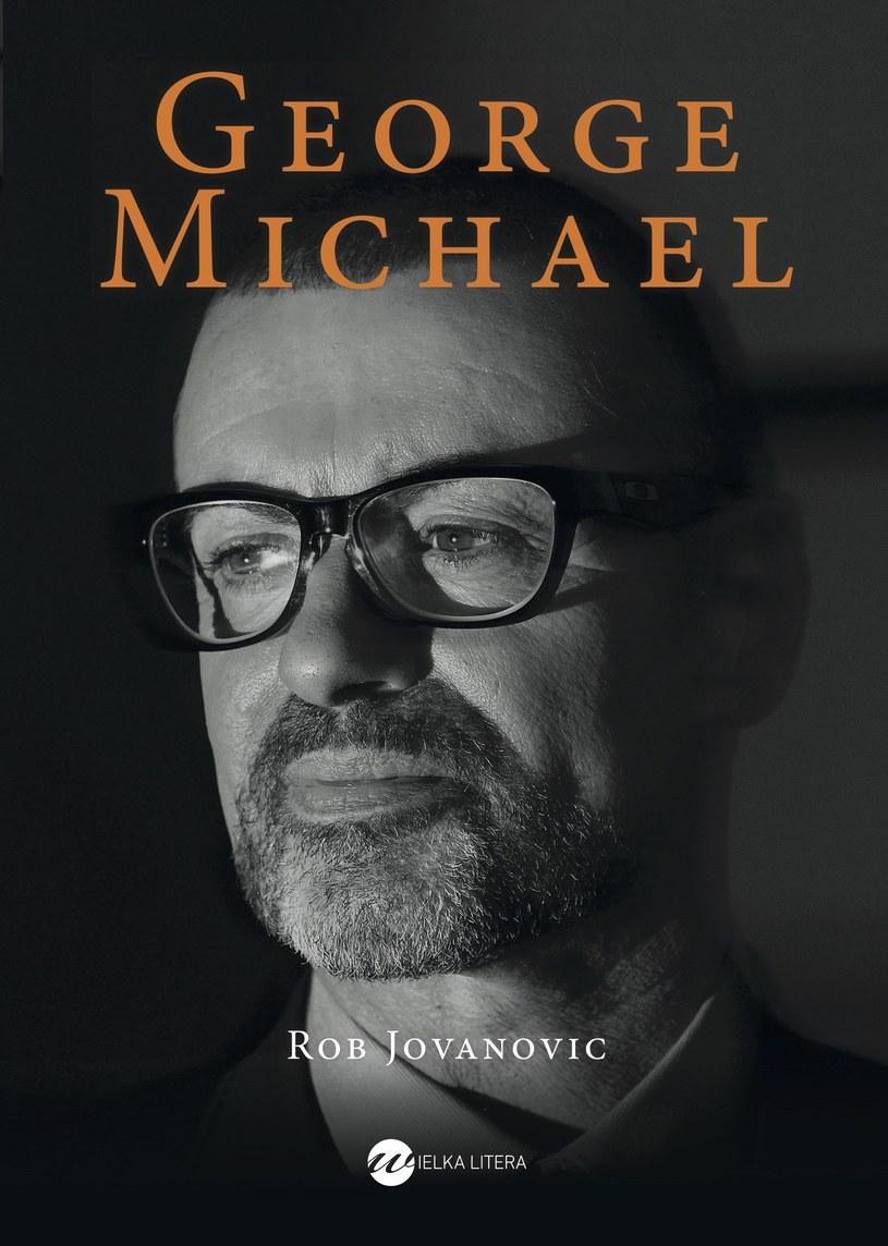 """Okładka książki """"George Michael"""" /materiały promocyjne"""