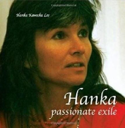 """Okładka książki """"Hanka, passionate exile"""", Hanka Kawecka-Lee, Amber and Turquoise Books /INTERIA.PL"""