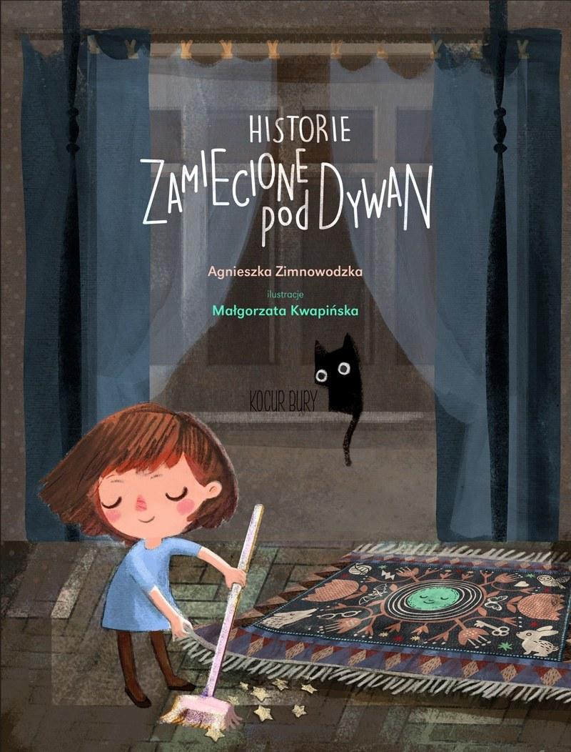 """Okładka książki """"Historie zamiecione pod dywan"""" /materiały prasowe"""