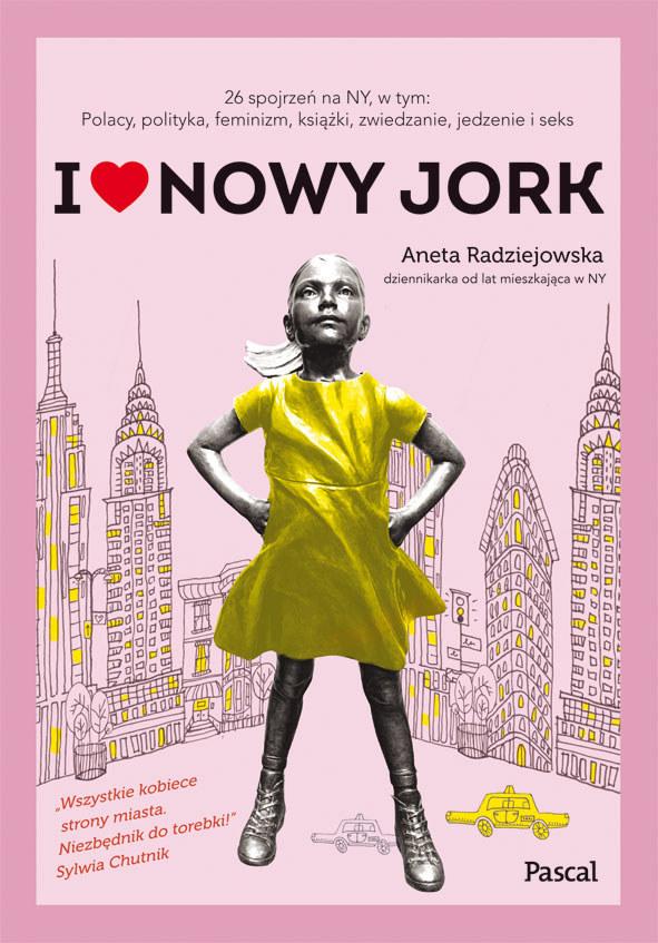 """Okładka książki """"I love Nowy Jork"""" /materiały prasowe"""