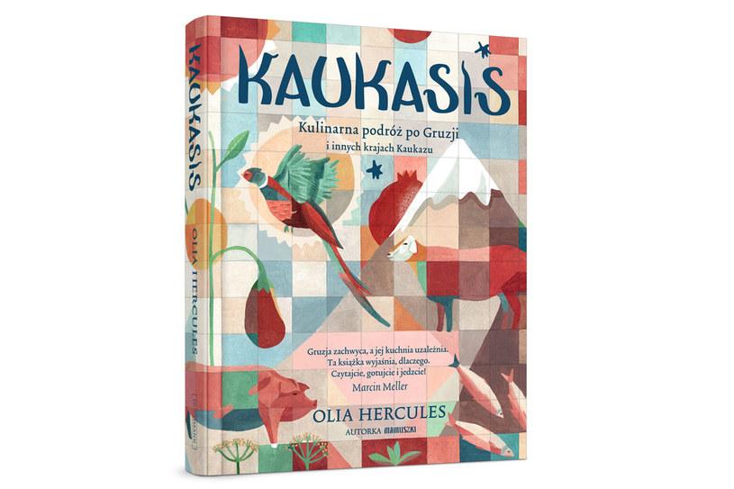 """Okładka książki """"Kaukasis"""" /materiały prasowe"""