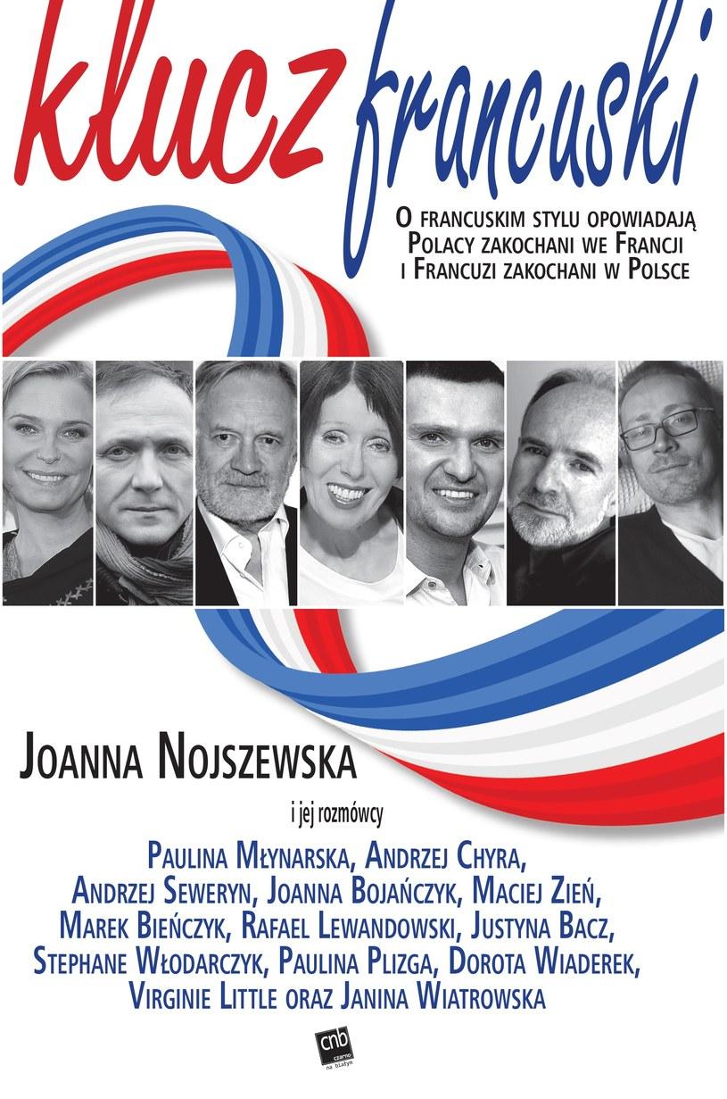 """Okładka książki """"Klucz francuski"""" Joanny Nojszewskiej /materiały prasowe"""