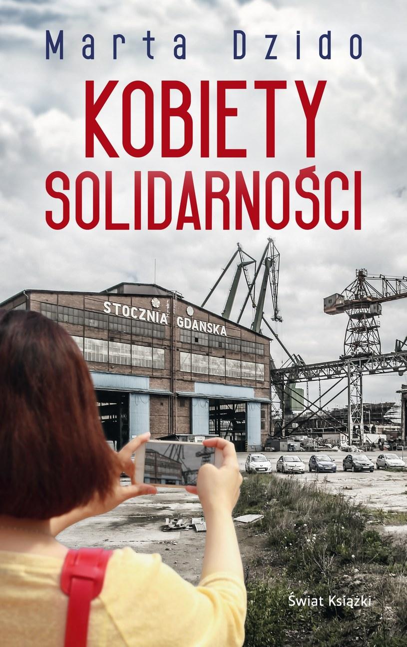 """Okładka książki """"Kobiety Solidarności"""" /materiały prasowe"""