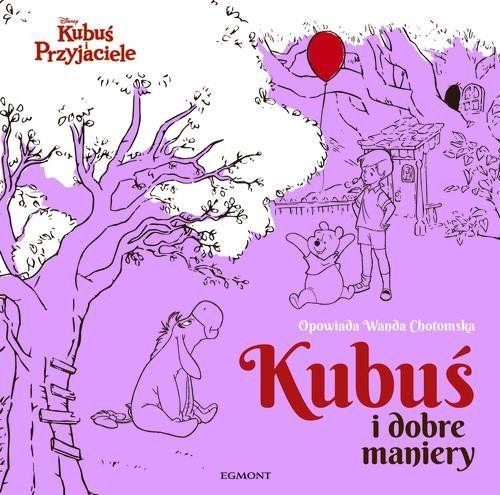 """Okładka książki """"Kubuś i dobre maniery"""" /materiały prasowe"""