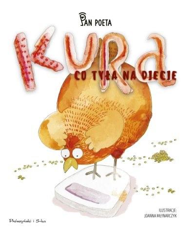 """Okładka książki """"Kura, co tyła na diecie"""" /materiały prasowe"""