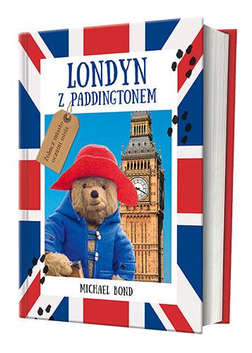 """Okładka książki """"Londyn z Paddingtonem"""" /materiały prasowe"""