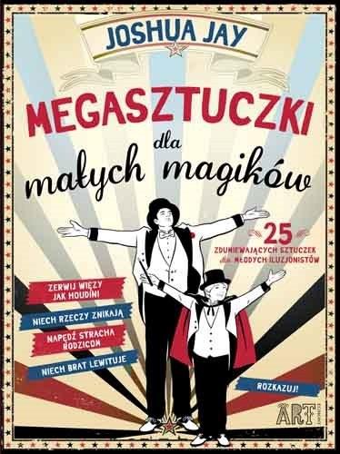 """Okładka książki """"Megasztuczki dla małych magików"""" /materiały prasowe"""