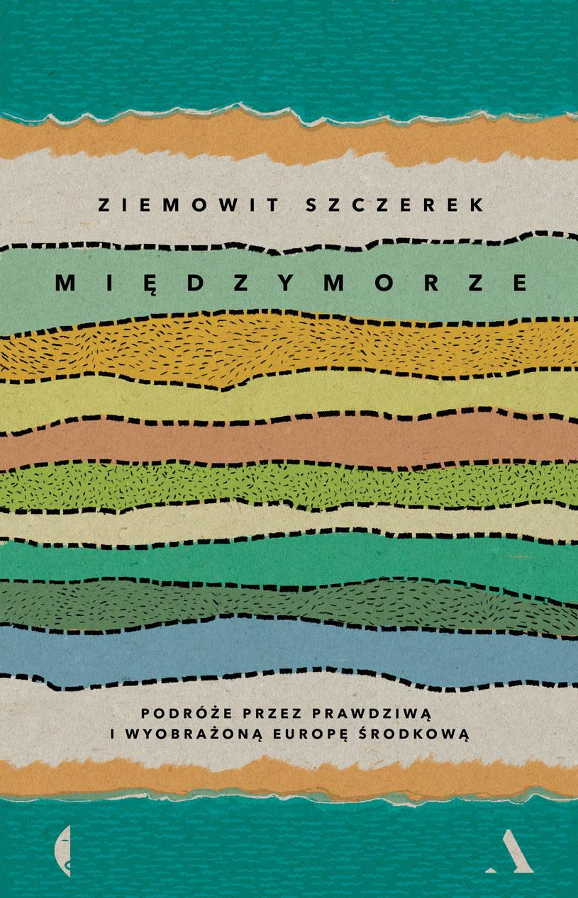 """Okładka książki """"Międzymorze"""" /materiały prasowe"""