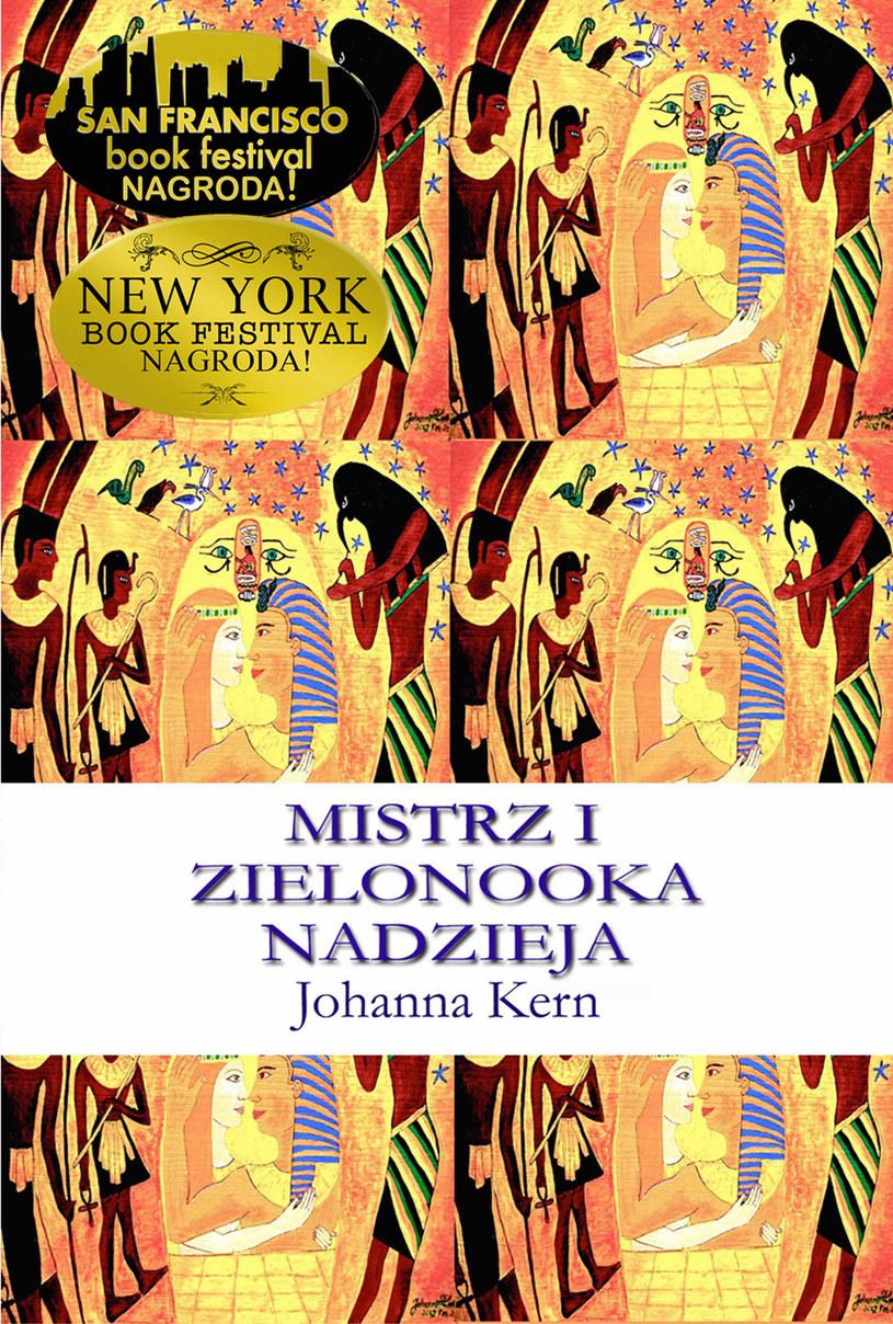 """Okładka książki """"Mistrz i Zielonooka Nadzieja"""" Johanny Kern /Styl.pl/materiały prasowe"""