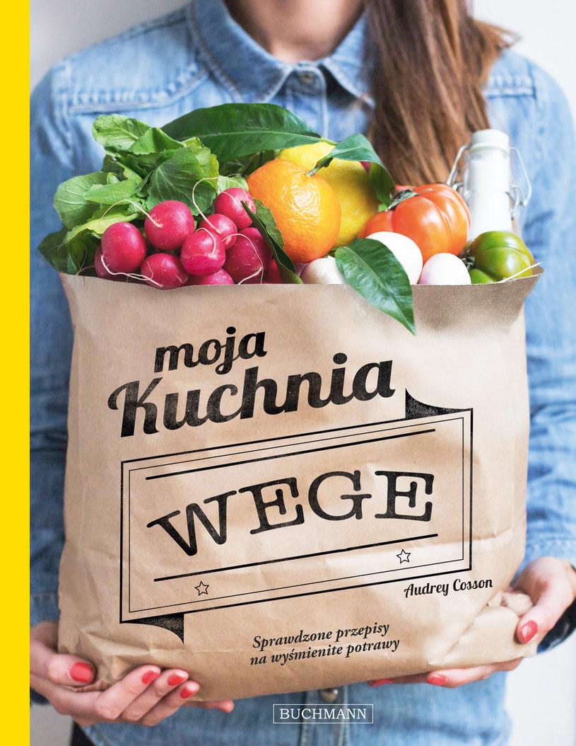 """Okładka książki """"Moja kuchnia wege"""" /materiały prasowe"""