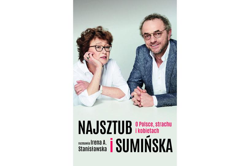 """Okładka książki """"Najsztub i Sumińska o Polsce, strachu i kobietach"""" /materiały prasowe"""