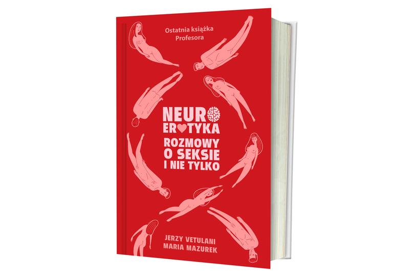 """Okładka książki """"Neurotyka. Rozmowy o seksie i nie tylko"""" /materiały promocyjne"""