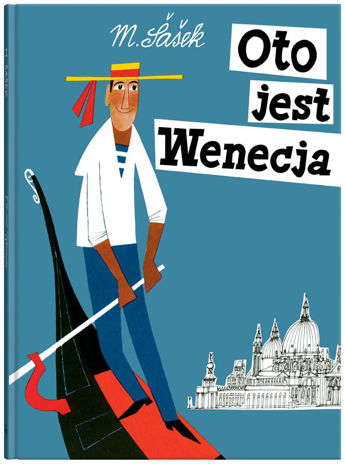 """Okładka książki """"Oto jest Wenecja"""" /materiały prasowe"""
